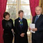 Claire-Lise Campaion avec Jean-Marc Ayrault et Marie-Arlette Carlotti