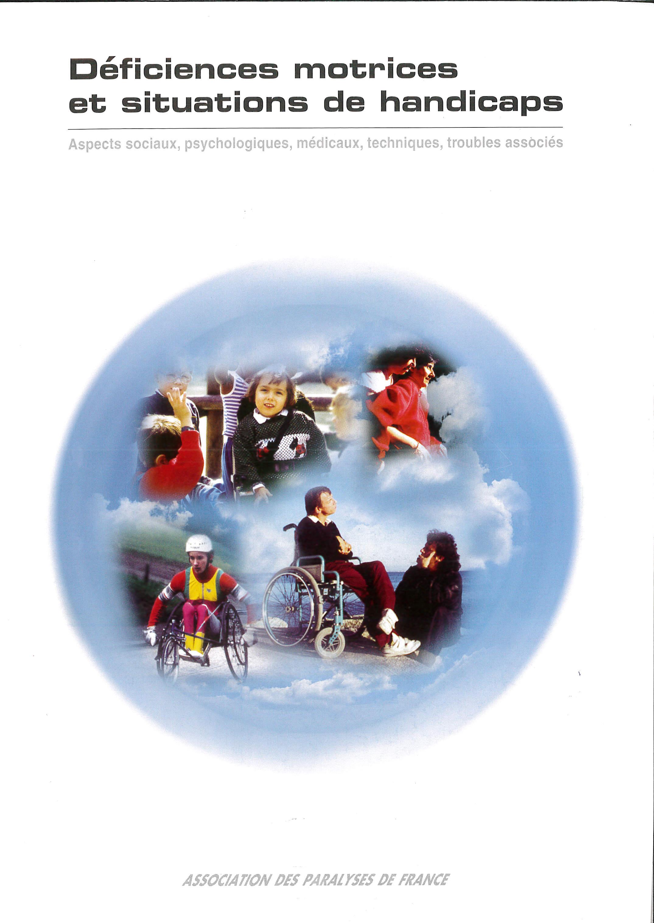 Déficiences motrices et situations de handicap, livre numérique