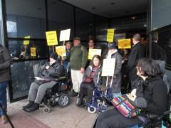 Manifestation dysfonctionnements Tisseo-Mobubus