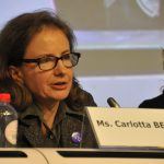 Carlotta Besozzi directrice du Forum europeen des personnes handicapees