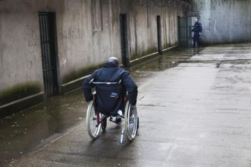 personne handicapée en prison
