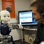 robot ICub apprentissage crédit P Latron-Inserm
