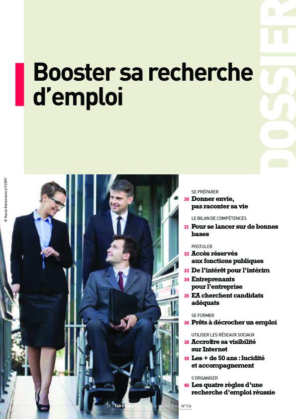 Couverture Dossier N°734 Booster sa recherche d'emploi