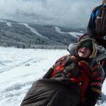 Refuge du Sotre randonne en fauteuil ski