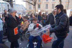 urne et vote mobilisation contre ordonnace accessibilite