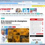 copie ecran site l'Equipe web serie handisport