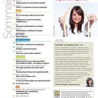 Sommaire magazine Faire Face Mars-Avril 2015 (N° 736)