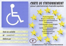 Parking handicapé gratuit ou payant