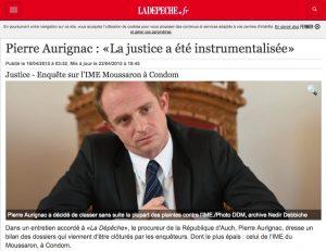 capture depeche itw procureur Auch