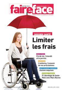 Couverture Sante Limiter les frais  Magazine Faire Face sept oct 2015 (n739)