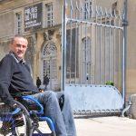 Visite de Reims avec Christophe Peran. © Aurélia Sevestre