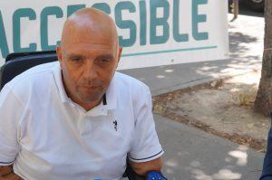 Pour Philippe Croizon, le gouvernement doit désormais compter avec une nouvelle force : celle des personnes handicapées. © Valérie Di Chiappari