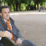Jean-Paul Didierlaurent dédicacera ses ouvrages ce week-end au salon Le Livre sur la Place à Nancy (Meurthe-et-Moselle). ©Jean-Christophe Verhaegen/AFP