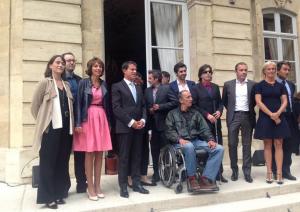 Manuels Valls a présenté la campagne, à Matignon, le 4 septembre.