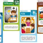 Sur le principe du jeu des sept familles, Hand17familles  offre la possibilité de sensibiliser au handicap des enfants de 6 à 12 ans, en famille ou en milieu scolaire.