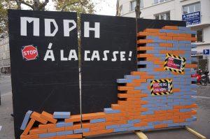 MDPH mobilisation octobre 2015