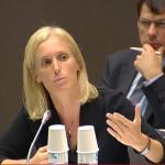 « Un allocataire de l'AAH ne devra pas, pour quelques euros de revenus du patrimoine, perdre un complément de l'AAH  » : Ségolène Neuville, en commission à l'Assemblée nationale.