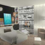 La Senses Room est une chambre avec salle de bains alliant confort, design et utilisation pour tous. ©Studio PH2B