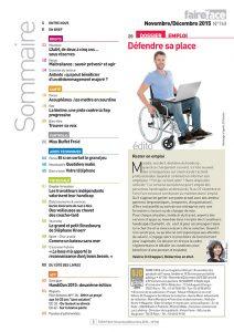 Sommaire Magazine Faire Face nov dec 2015