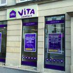 La boutique Vita Confort se situe au 25 rue Lecourbe dans le 15e arrondissement de Paris. © VIta Confort