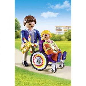 Le handicap vu comme transitoire © Playmobil