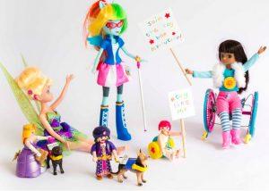 Toy Like Me a détourné des jouets existants pour sensibiliser à la cause du handicap ©Beth Moseley Photography