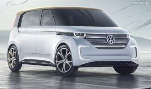 Le van electrique Budd-E de VW