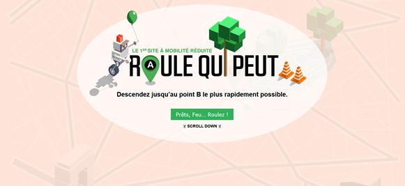 Wheeliz lance un jeu en ligne sur les déplacements des personnes handicapées