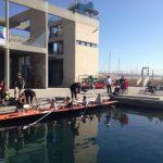 Avi sourire est hébergée dans la base nautique accessible de Corbière, plage de l'Estaque (Marseille, 12e).
