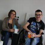 Célia et Geoffray rempilent pour une année dans la colocation à projet.
