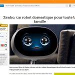 Le robot domestique Zenbo sera vendu 540 euros par Asus.