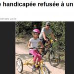 Flavie à été refusée à un camp d'été à Challans. Photo Ouest France