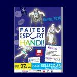 Plusieurs figures du handisport apporteront leur soutien à Faites du Sport Handi ! 2016. Parmi elles : Hyacinthe Deleplace (double médaillé de bronze aux mondiaux d'athlétismes de Parilly en 2013), Jérôme Elbrycht (ski-cross) ou Sylvain Bréchet (triple champion de France de snowboard cross).