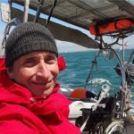 Tétraplégique, atteint de la maladie de Charcot depuis cinq ans, Jean d'Artigues va effectuer une traversée de 8 000 km pour relier la Bretagne aux Antilles. © DR