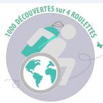 Pendant son tour du monde, Blandine Even partagera ses aventures et conseils sur son site 1 000 découvertes sur 4 roulettes.