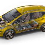 Un véhicule électrique propose une meilleure habitabilité et un plancher plat, en raison de l'absence de réservoir d'essence.