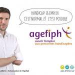 Une Agefiph plus accessible à l'image de son ambassadeur, Gregory Cuilleron