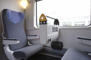 L'intérieur d'une rame Intercités rénovée. ©Sncf