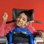 L'Institut d'éducation motrice et le Service de soins et d'aide à domicile Handas de Villeubanne reçoivent 45 enfants et adolescents de 2 à 20 ans polyhandicapés. © Jean-Baptiste Laissard