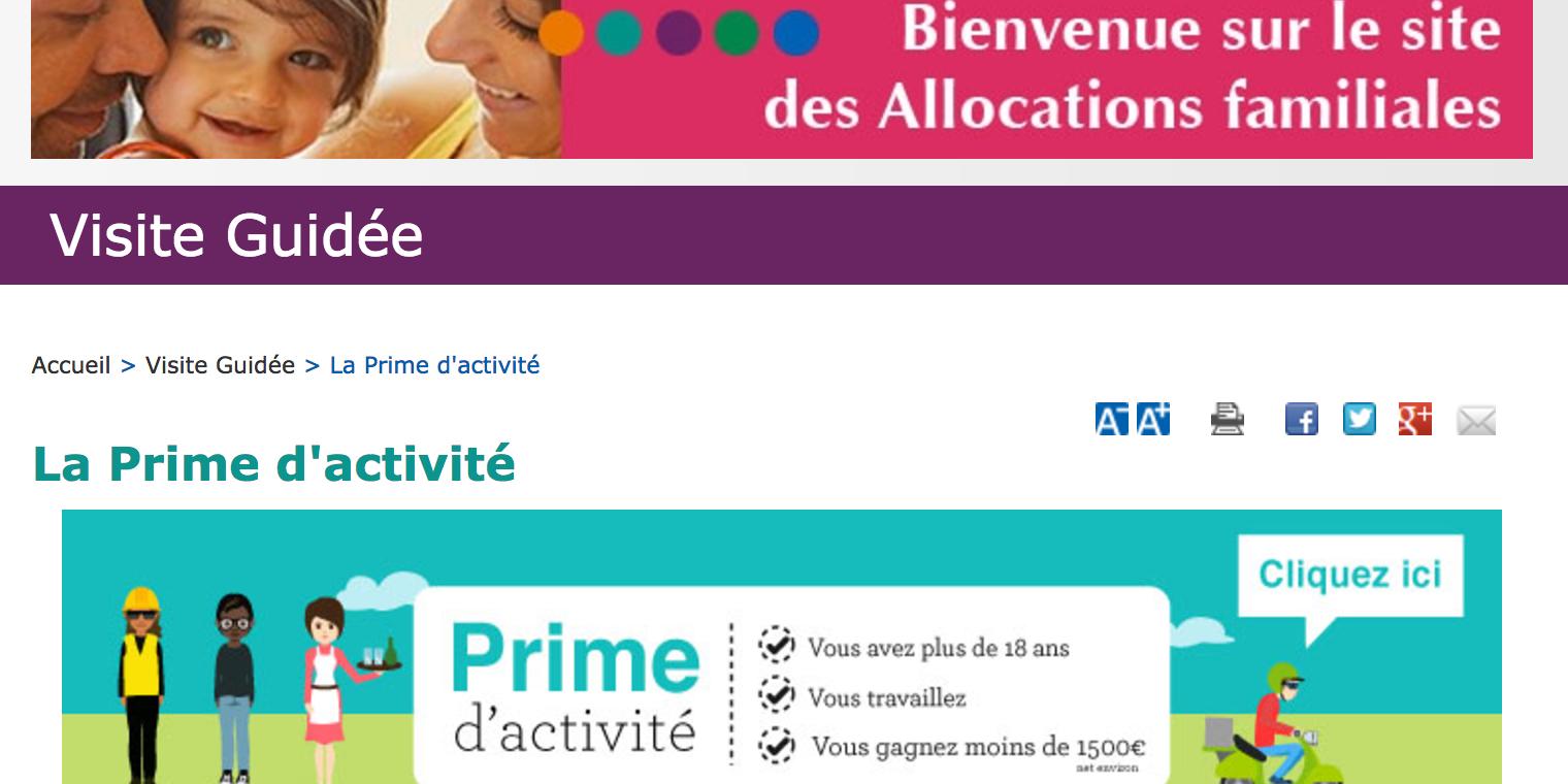 Prime D Activite Et Pension D Invalidite La Caf Apporte Des