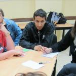 La garantie jeunes repose sur un accompagnement collectif, assuré par les missions locales, et des périodes de mise en situation professionnelle. ©LaTransfo