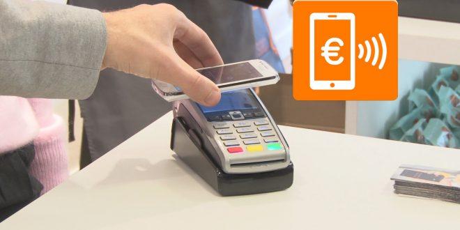 Payer ses courses d'un geste avec Orange Cash