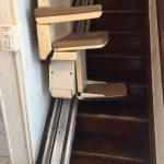 image monte escalier électrique
