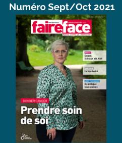 magazine Faire Face cancer