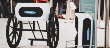 Ce fauteuil roulant tient… dans un petit sac de voyage