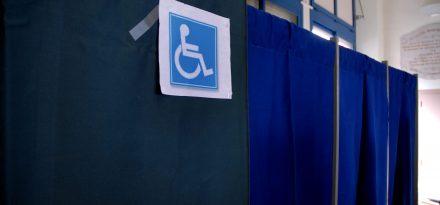 Le vote d'une personne handicapŽe