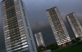 High rise flats, Glasgow