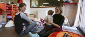 Creche à Rennes - Un tiers de ses places sont reservées aux enfants en situation de handicap