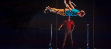 Karim Randé, acrobate : «Mes prothèses, mes nouveaux agrès»
